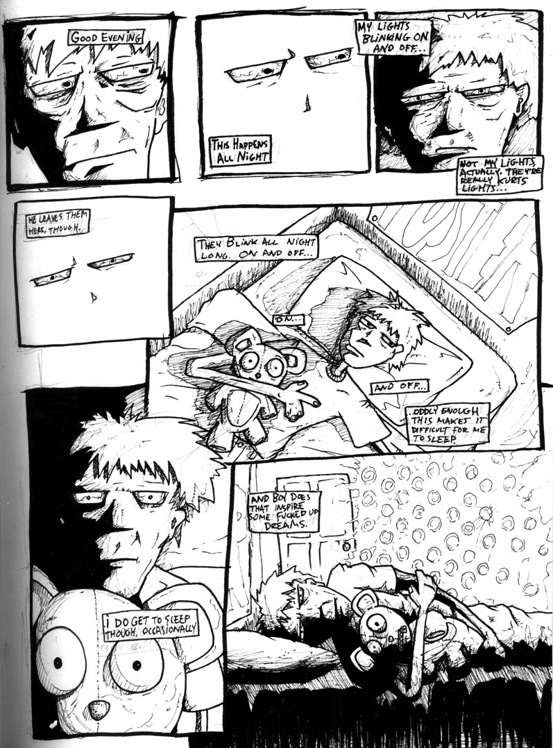 Comic Page 1 Draft