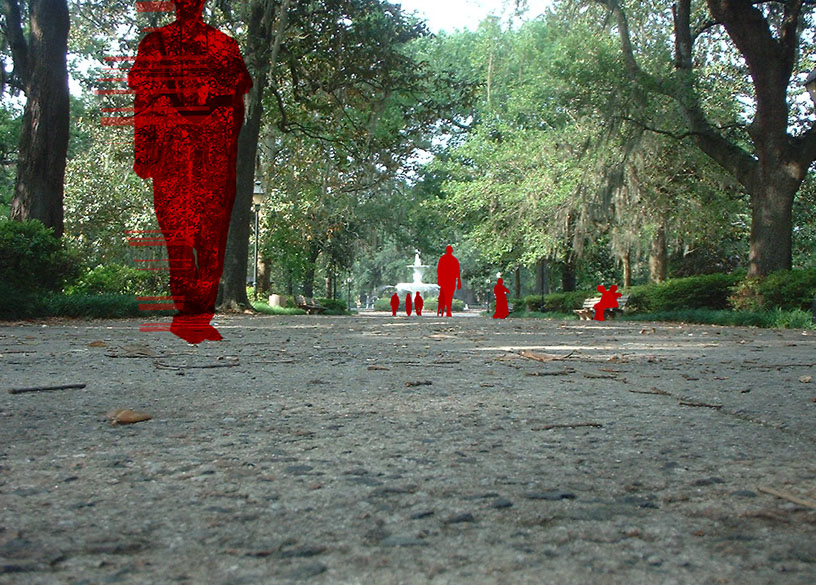 Red In The Park